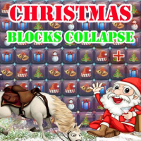 Christmas Blocks Collapse