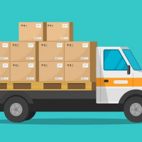 Food And Delivery Trucks Jigsaw