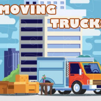 Moving Trucks Jigsaw